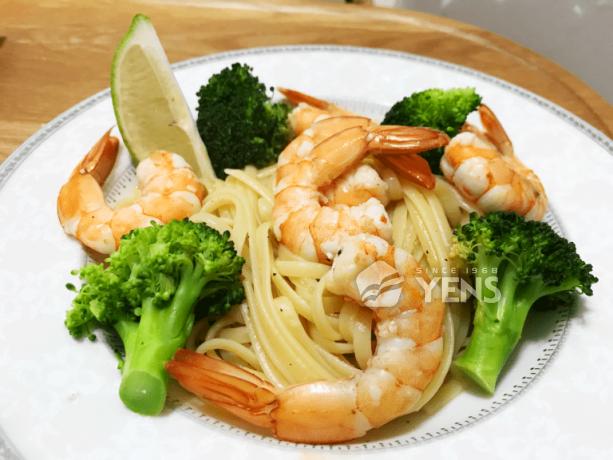 發糕廚房之蝦子料理推薦|不輸活蝦的元家藍鑽蝦
