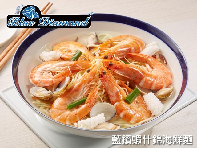 藍鑽蝦<P>Blue Diamond Shrimp<span>阿拉伯皇室御用,世界級認證</span>