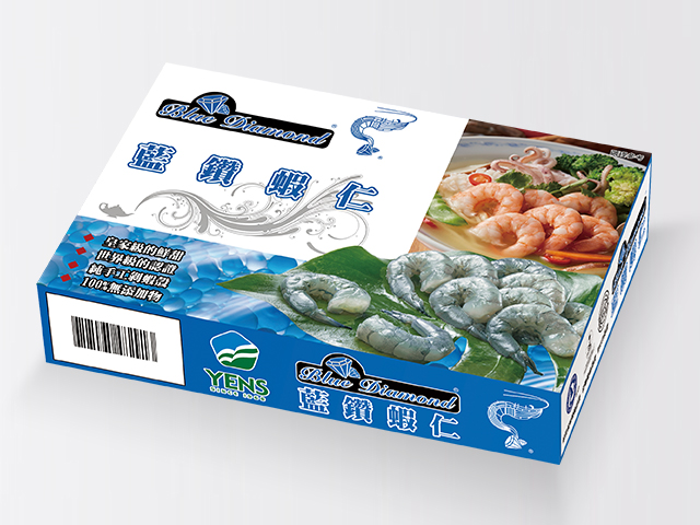 藍鑽蝦仁<P>Frozen Blue Diamond Shrimp, Peeled & Deveined