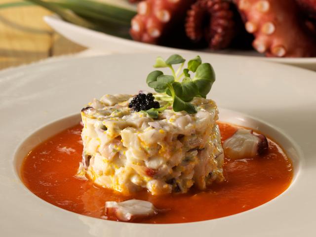 顏師傅 章魚沙拉<P>Octopus Salad